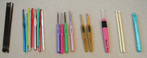 assortment crochet hooks Last Day of 12 Days of Crochet Christmas Giveaway: Win Crochet Magazines, Crochet Hooks and a Yarn Swift