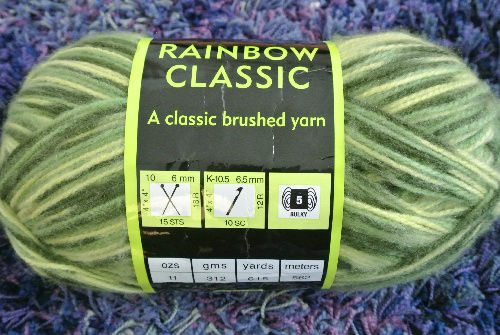 bulky green acrylic yarn Day 5 of 12 Days of Crochet Christmas: Win Yarn!