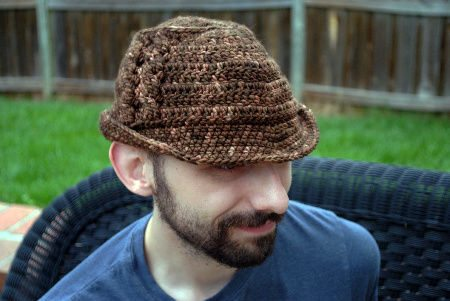 cabled fedora Day 10 of 12 Days of Crochet Christmas: Win $30 of Crochet Patterns + Yarn