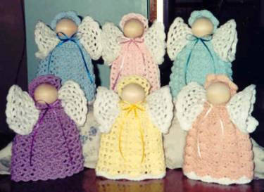 Easy Free Crochet Angel Pattern : Day 4 of 12 Days of Crochet Christmas: Win Cute Crochet ...