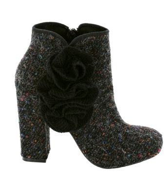crochet boots Coveting: Rocket Dog Crochet and Felt High Heel Shoes
