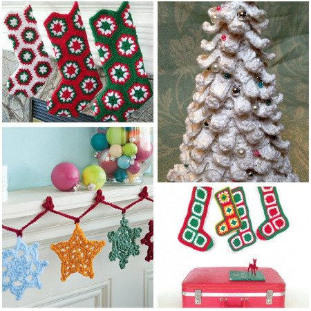 Post image for 16 Heartwarming Examples of Beautiful Crochet Christmas Decor