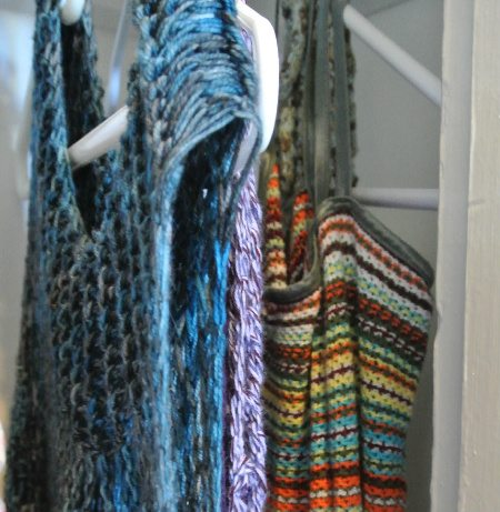 crochet dress tops Welcome to My Crochet Covered Home (Photo Tour)