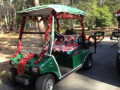 crochet golf cart December 1st Crochet Link Love