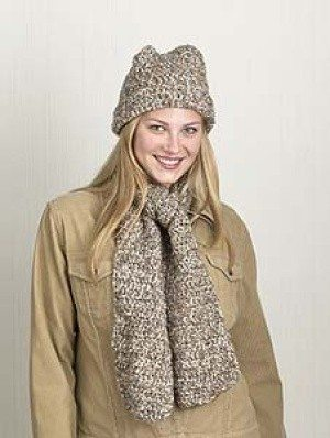 Crochet Patterns For Scarf And Hat : 20 Free Patterns for One Skein Projects You Can Complete ...