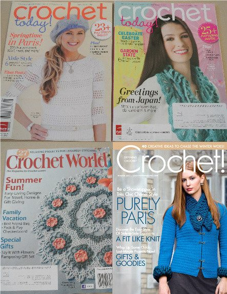 crochet magazines1 Day 11 of 12 Days of Crochet Christmas: Win 3 Crochet Patterns + Magazines