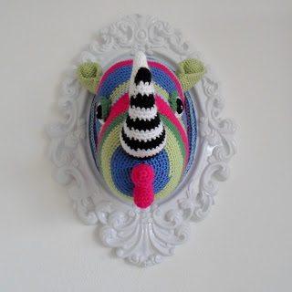 crochet rhino