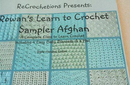 crochet sampler book