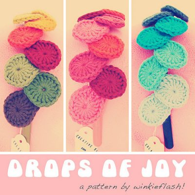 drops of joy crochet pattern 400x400 Day 3 of 12 Days of Crochet Christmas: Win 3 New Crochet Patterns and Piecework Magazine