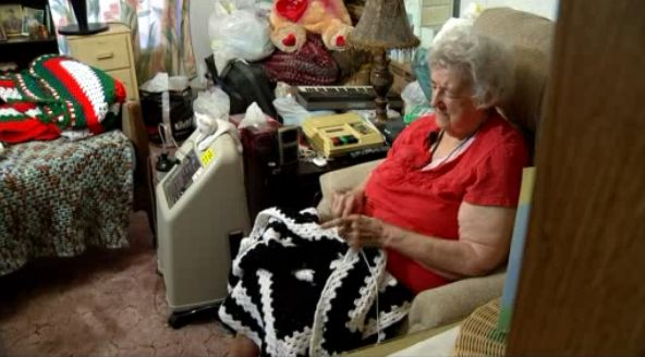 elderly crochet