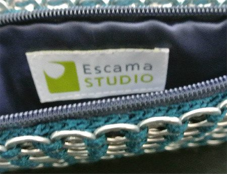 escama studio crochet bag