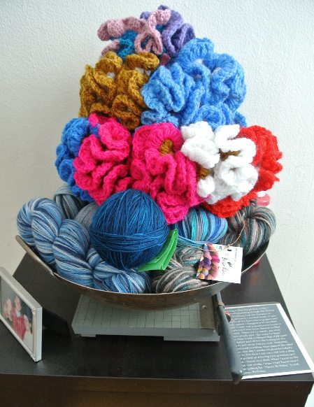 hyperbolic crochet art Welcome to My Crochet Covered Home (Photo Tour)
