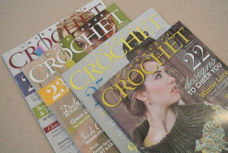 interweave crochet magazines Last Day of 12 Days of Crochet Christmas Giveaway: Win Crochet Magazines, Crochet Hooks and a Yarn Swift
