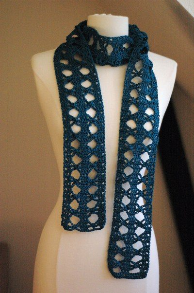 papillon crochet scarf Day 5 of 12 Days of Crochet Christmas: Win Yarn!