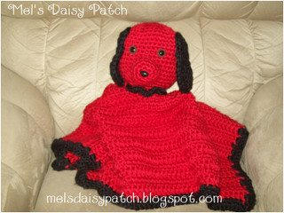 snuggle puppy red black 1 0 Crochet Concupiscence 12 Days of Christmas Giveaway: The Prizes