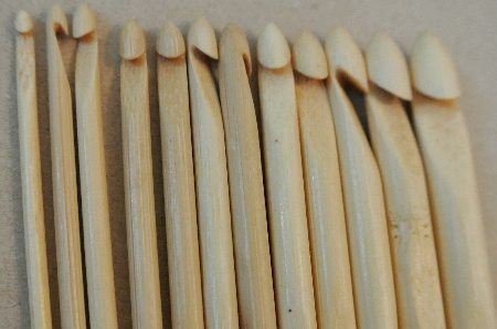 wooden crochet hooks Crochet Concupiscence 12 Days of Christmas Giveaway: The Prizes