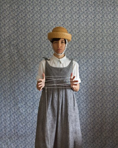 yokoo dress 400x502 Total Process Crochet Artist Yokoo Gibran