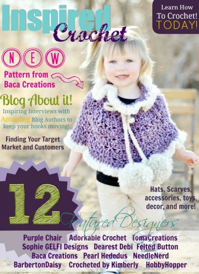 FebCover700 400x550 Giveaway Winner: Inspired Crochet Digital Magazine!