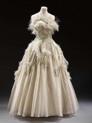Pierre Balmain vintage gown Designer Crochet Project: Pierre Balmain