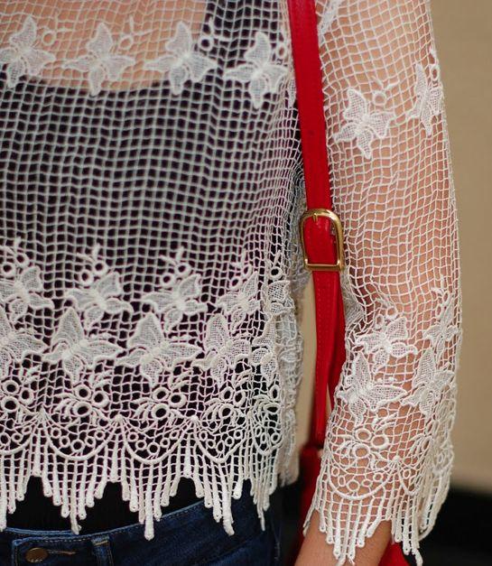 balmain crochet