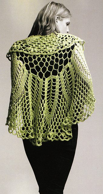 circle crochet shawl A Danish Heart and Doris Chan