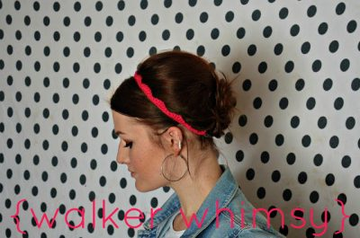 crochet headband pattern 400x265 This Weeks Crochet Link Love