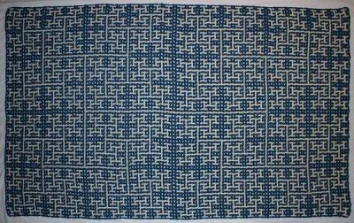 crochet math blanket 400x252 Crochet Blog Roundup: January in Review