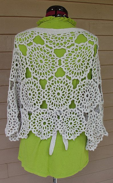 Crochet Pattern For Nursing Shawl : crochet motif shawl pattern