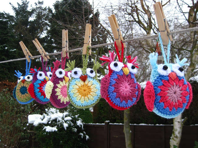 crochet owl pattern This Weeks Crochet Link Love