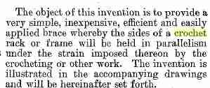 crochet patent