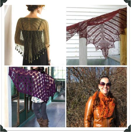 Post image for 10 Terrific Crochet Shawl Pattern Designers and their Most Popular Patterns