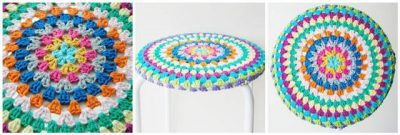 crochet stool 400x135 Link Love! Best Crochet Posts of the First Week of the Year
