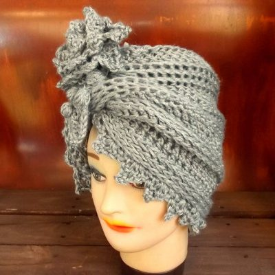 crochet turban hat 2 400x400 Interview with Innovative Crochet Designer Strawberry Couture
