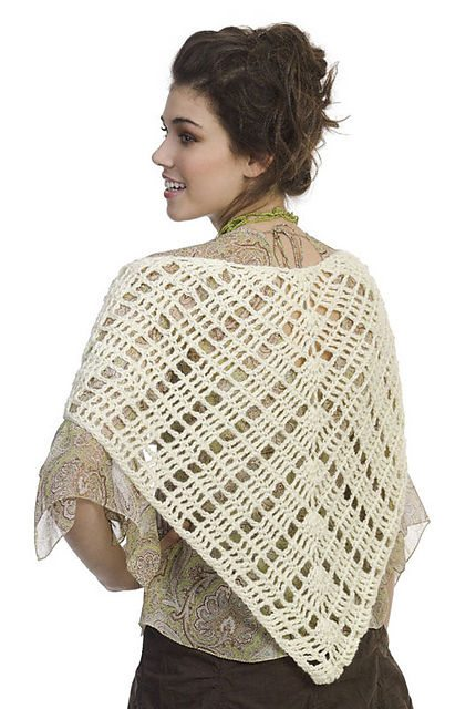 Crochet A Shawl Easy Pattern : 10 Terrific Crochet Shawl Pattern Designers and their Most ...