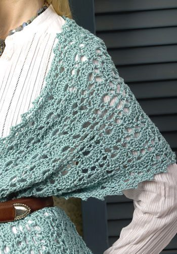 Crochet Easy Shawl Pattern Free : Vintage Crochet Shawls Free Patterns Search Results ...
