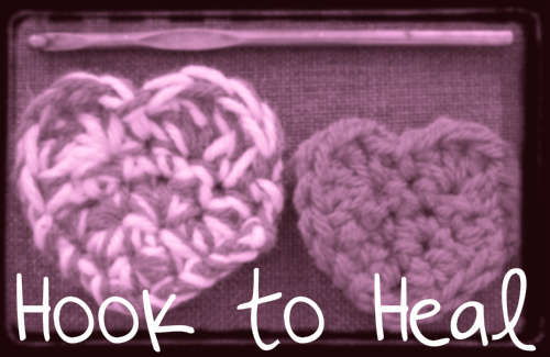 hook to heal crochet project