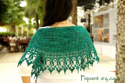 one skein crochet shawl 400x266 10 Terrific Crochet Shawl Pattern Designers and their Most Popular Patterns