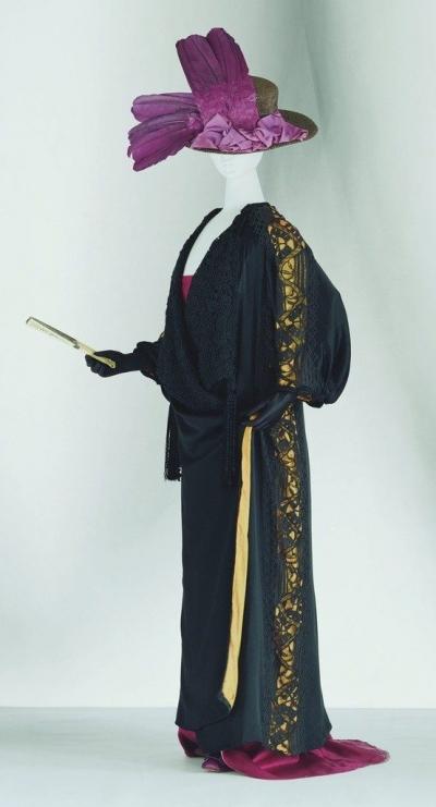 paul poiret gehaakte kimono