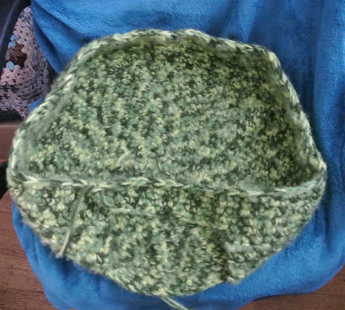 pet bed crochet