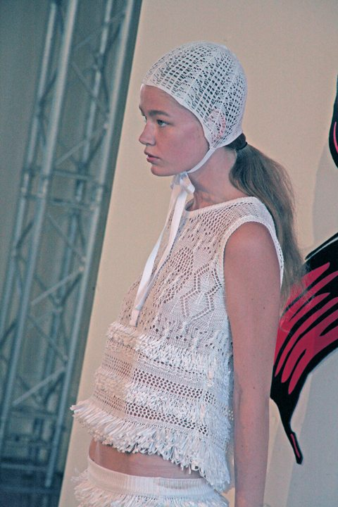 sister sibling fashion 2013 in Crochet