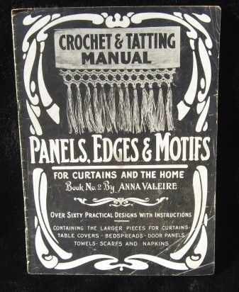 tatting and crochet book vintage