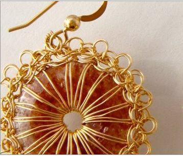 Post image for Wire Crochet Jewelry Artist Miriam Chor Freitas