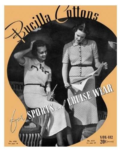 1930s livre de modèle de crochet
