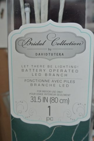 david tutera bridal light