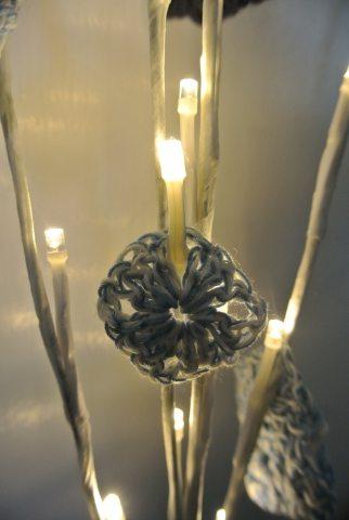 luces de ganchillo boda
