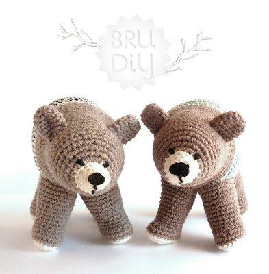 crochet patron ours