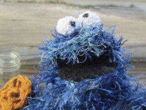 Haak cookie monster