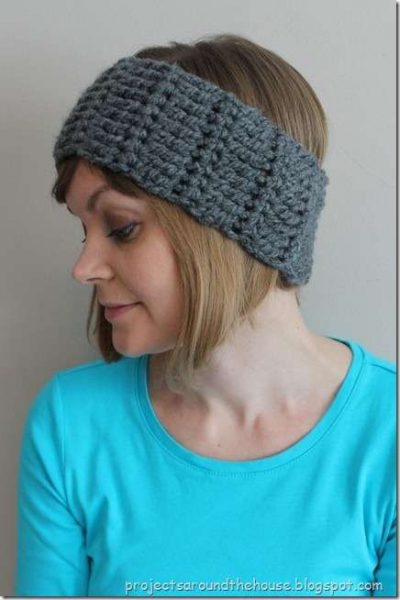 crochet pattern earwarmer