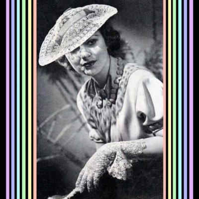 crochet-modèle de Bonnet et gants