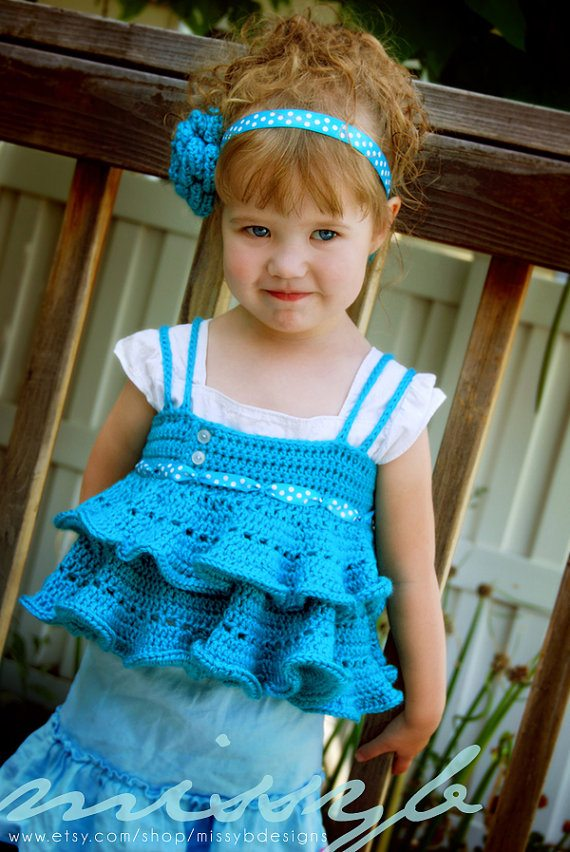 crochet kids shirt
